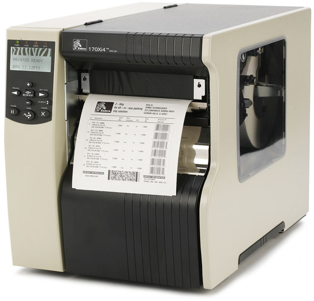 Industrial Printers ZEBRA-XI4 Model